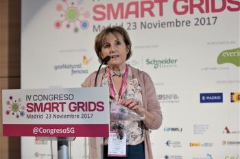 Blanca Gomez - Directora - CNI - Detalle Moderar Bloque - 4 Congreso Smart Grids
