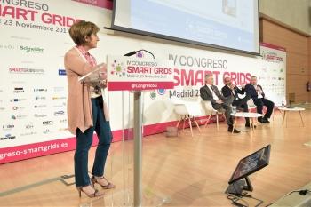 Blanca Gomez - Directora - CNI - General Moderar Bloque - 4 Congreso Smart Grids