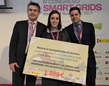 General 3 Enterega Premio Futured - 4 Congreso Smart Grids