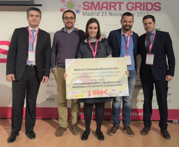 General 4 Enterega Premio Futured - 4 Congreso Smart Grids
