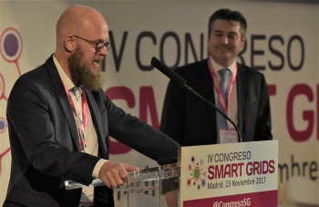 Stefan Junestrand - Director General - Grupo Tecma Red - Detalle 1 Clausuara - 4 Congreso Smart Grids