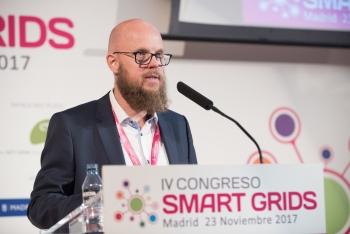 Stefan Junestrand - Director General - Grupo Tecma Red - Detalle - Inauguracion 4 Congreso Smart Grids