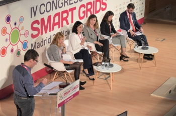 Vista General - Mesa Redonda - 4 Congreso Smart Grids