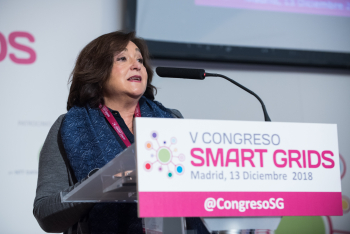 Marina-Serrano-Aelec-Inauguracion-2-5-Congreso-Smart-Grids-2018