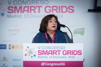 Marina-Serrano-Aelec-Inauguracion-1-5-Congreso-Smart-Grids-2018