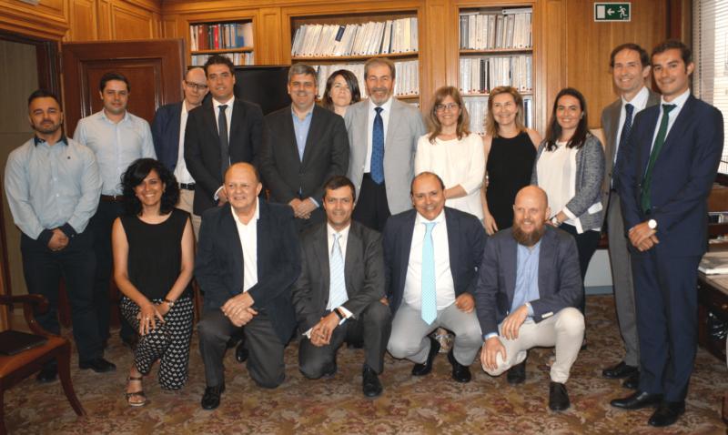 Foto de familia de la 1ª reunión del Comité Técnico del V Congreso Smart Grids.
