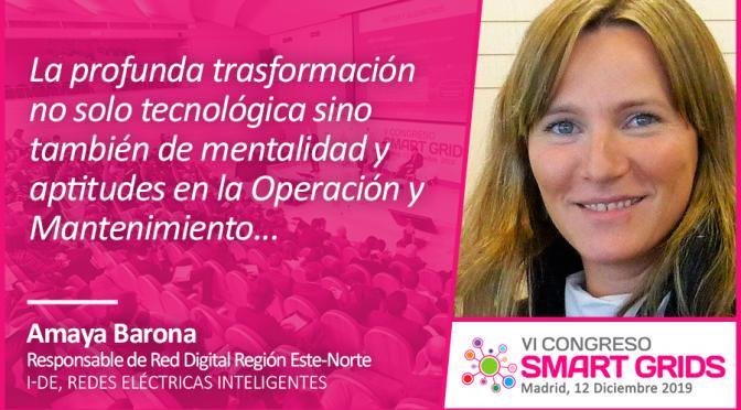 Entrevista a Amaya Barona de i-DE