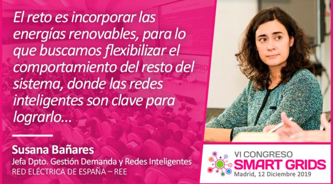 Entrevista a Susana Bañares de Red Eléctrica de España