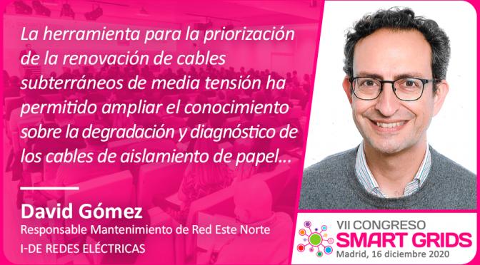 David Gómez de i-DE Redes Eléctricas