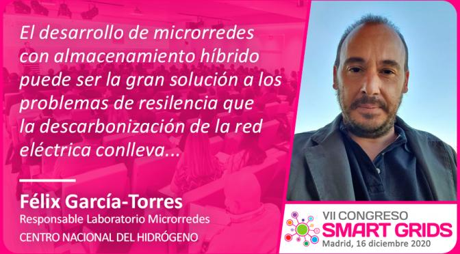 Entrevista a Félix García-Torres del Centro Nacional del Hidrógeno