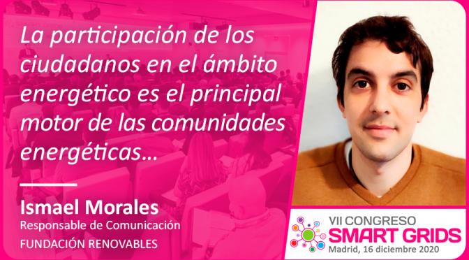 Entrevista a Ismael Morales de Fundación Renovables
