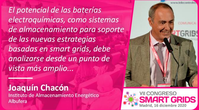 Entrevista a Joaquín Chacón del Instituto de Almacenamiento Energético Albufera