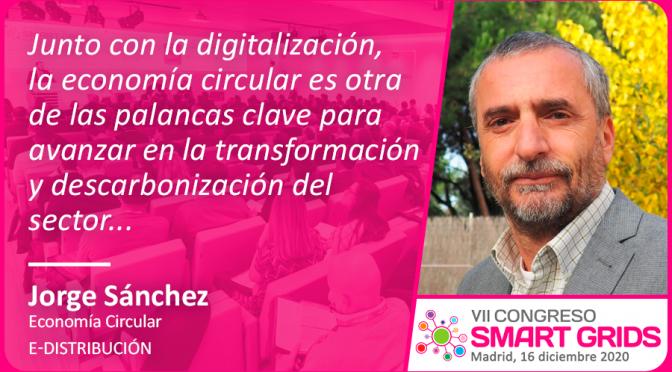 Entrevista a Jorge Sánchez de e-distribución