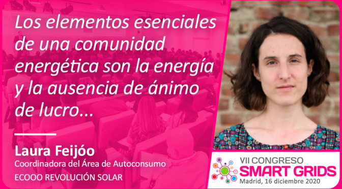 Laura Feijoó de Ecooo Revolución Solar
