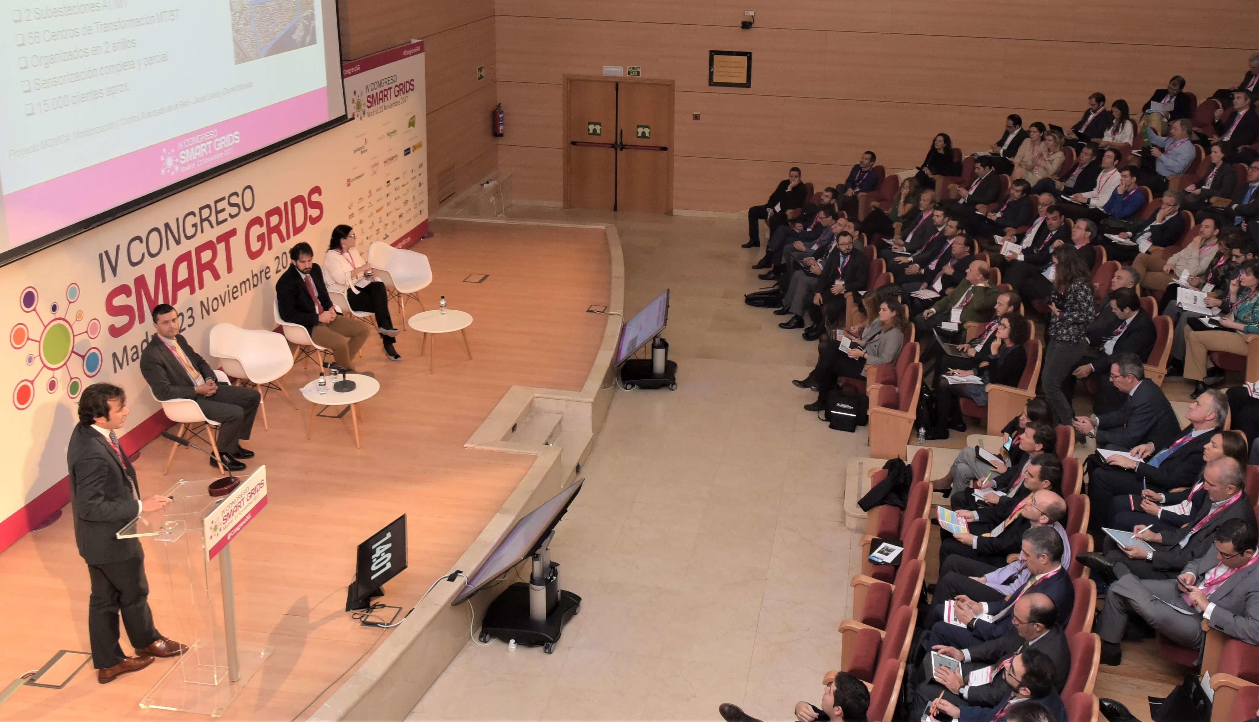 Ponencia Oral en IV Congreso Smart Grids 2017