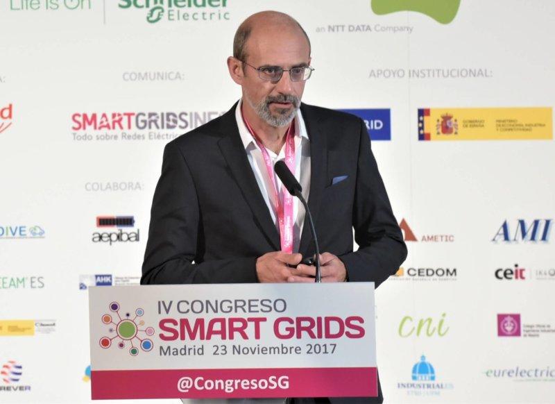 Ponencia de una Comunicación en el IV Congreso Smart Grids 2017